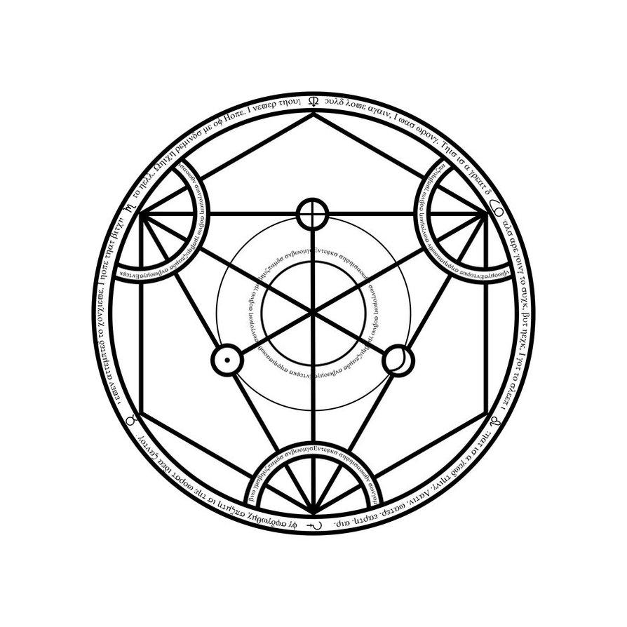 894x894 Transmutation Circle By Notshurly