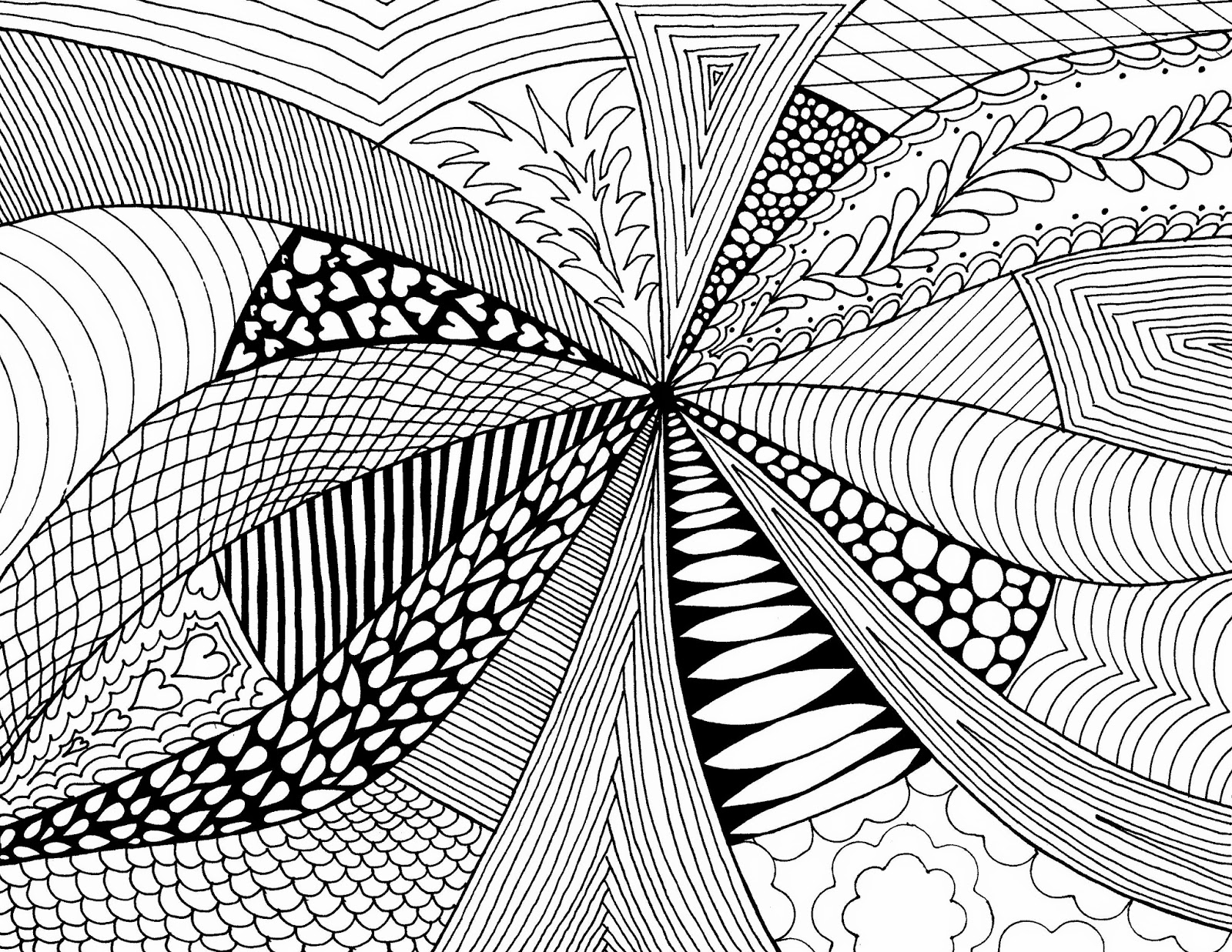 Using Lines In Drawing : Circle pattern drawing at getdrawings free for