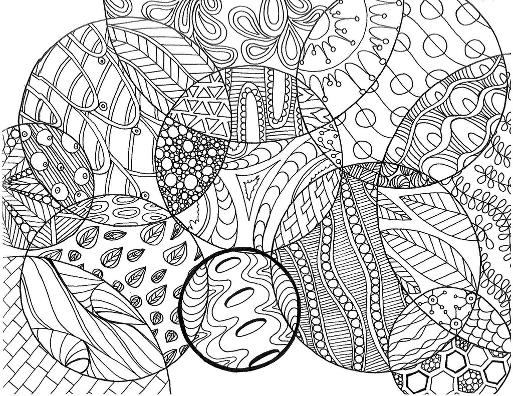 Circle Pattern Drawing At Getdrawingscom Free For Personal Use - Circle-pattern-coloring-pages