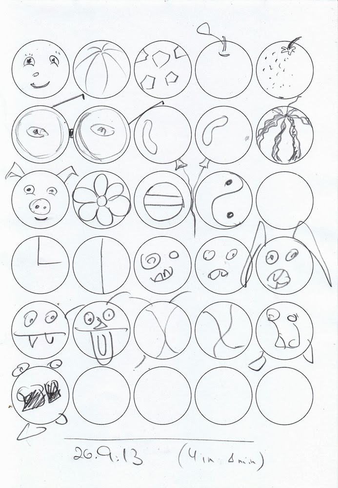 693x1000 Weekly Doodles And Tuts Developing Creativity The 30 Circles