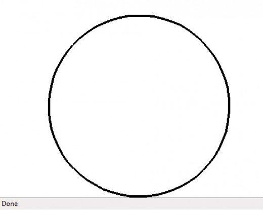 520x414 9 Best Images Of Drawing Of A Black Circle