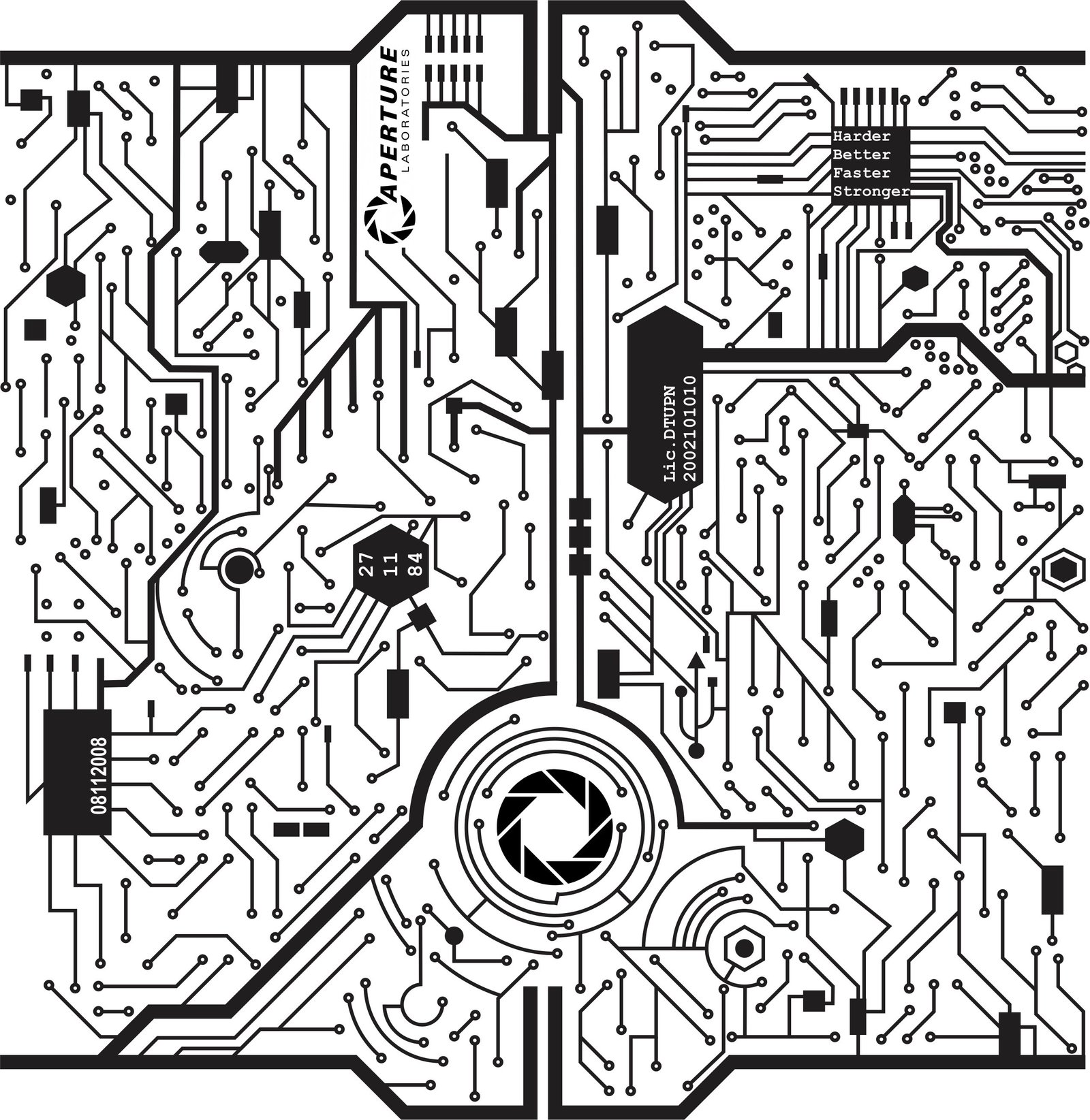 Circuit Board Drawing At Free For Personal Use Diagram Tattoo 1600x1645 Sketch By On