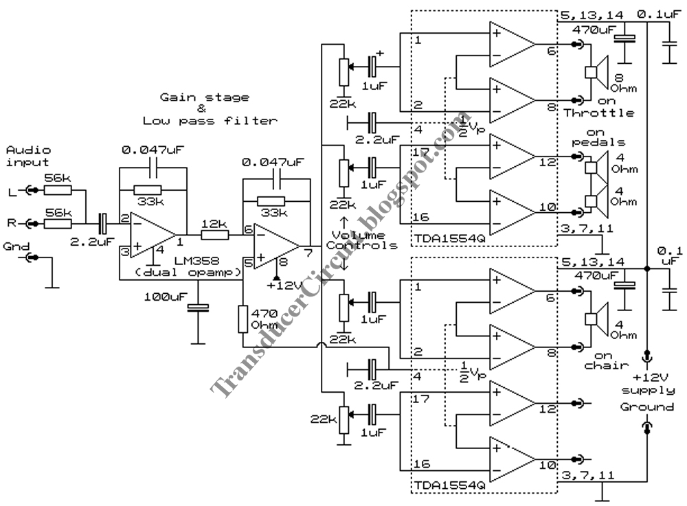 1000x737 Transducer Amplifier Circuit ~ Transducer Circuit Diagram