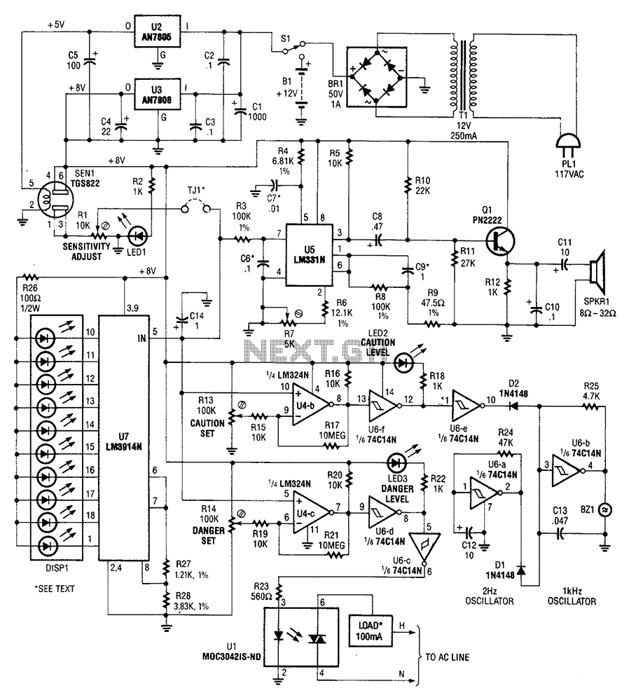 Circuit Drawing At Free For Personal Use The Line Follower Sensor And Its Circuitry 898x999 Sens Detectors Gt Air Gas Explosive Detector Diagram