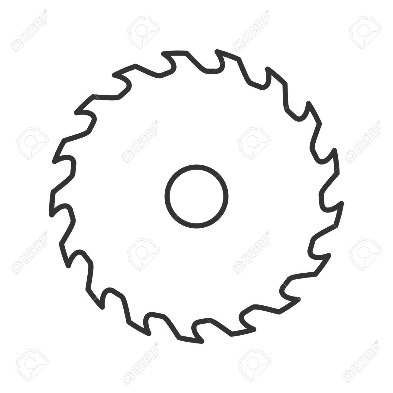 circular saw blade drawing at getdrawings com free for personal rh getdrawings com saw blade outline clip art saw blade clip art black and white flat
