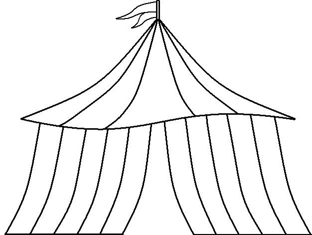 626x471 Circus Tent By Kingtzk