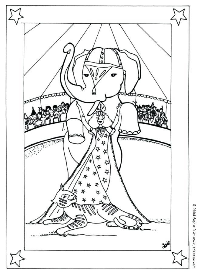 653x900 Free Circus Coloring Pages Circus Coloring Pages Drawing For Kids