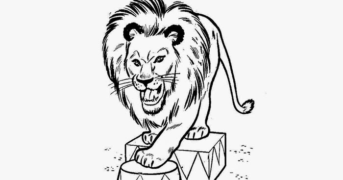 700x367 Circus Lion Coloring Pages Free Coloring Pages And Coloring