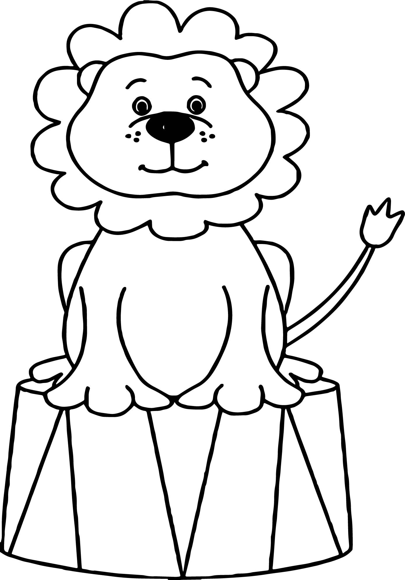 1389x1987 Circus Animals Coloring Pages Free Draw To Color