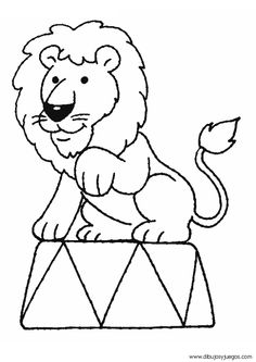 236x333 Circus Lion Clipart Black And White