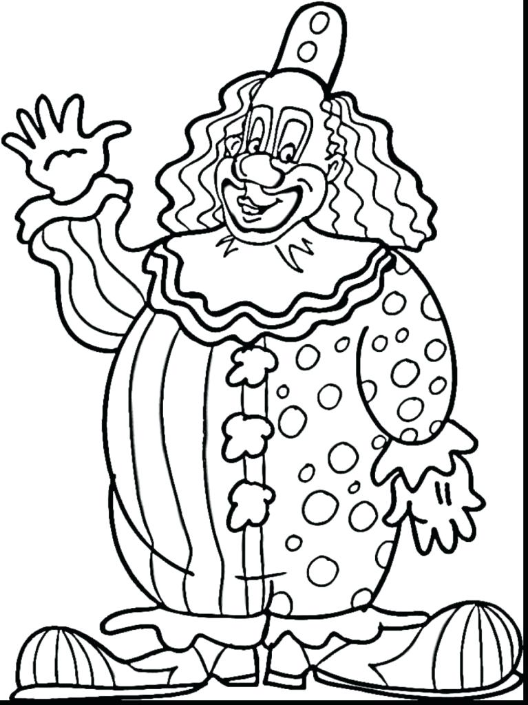 767x1024 Free Circus Coloring Pages Circus Coloring Pages Free Printable
