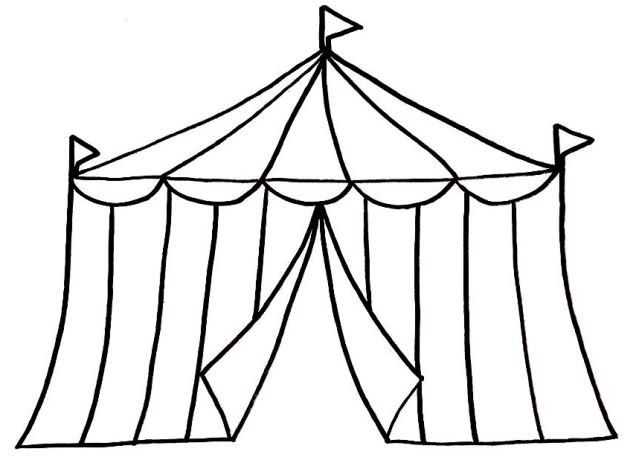639x466 Circus Tent Clipart Black And White Clipart Panda