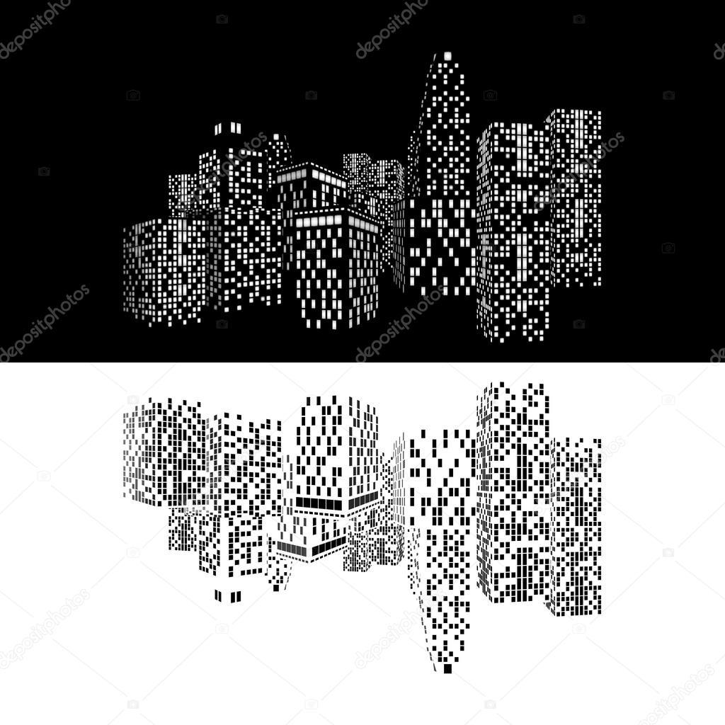 1024x1024 Night City Lights Wallpaper Hd, Pc Night City Lights Wallpaper Hd
