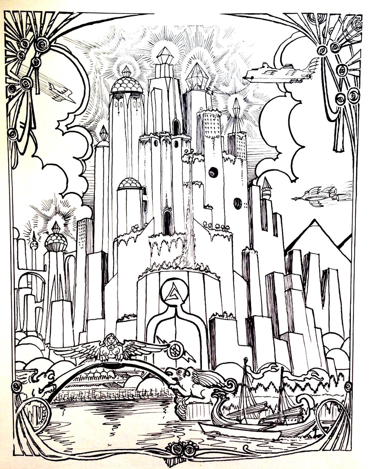 1182x1503 City Atlantide Myths Amp Legends