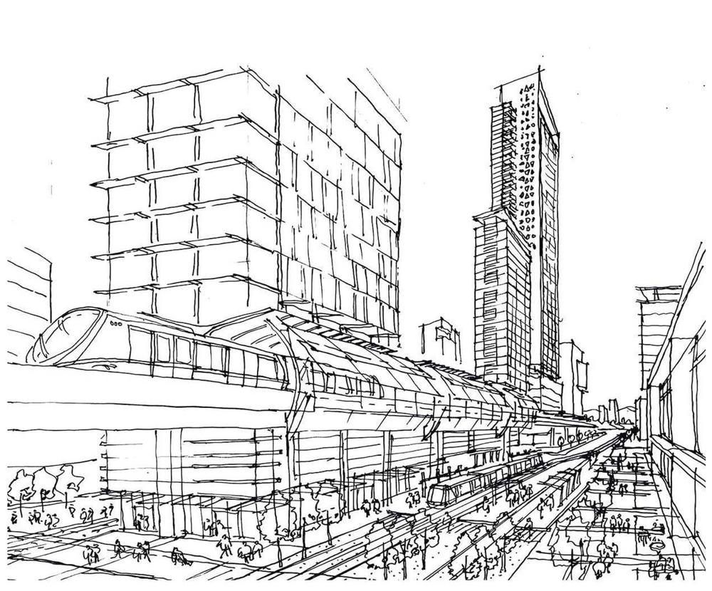 City Building Drawing at GetDrawings.com | Free for personal use ...