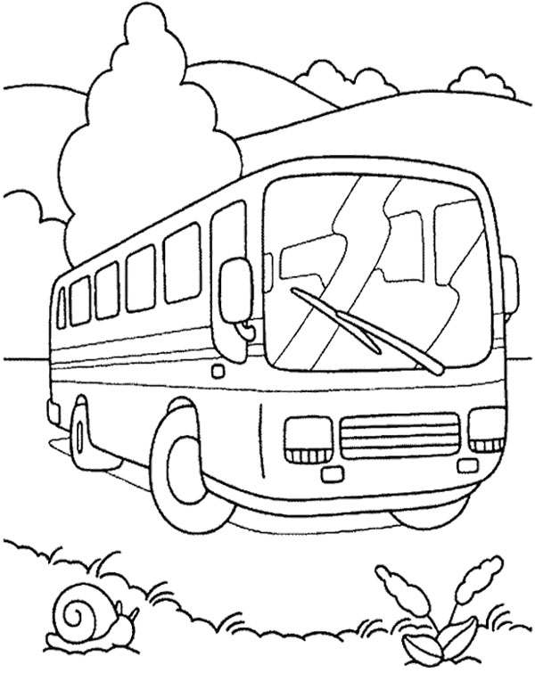 City Bus Drawing