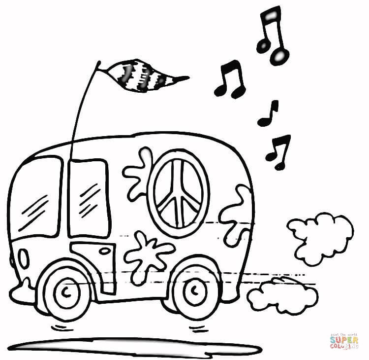 750x730 City Bus Coloring Page Free Printable Coloring Pages
