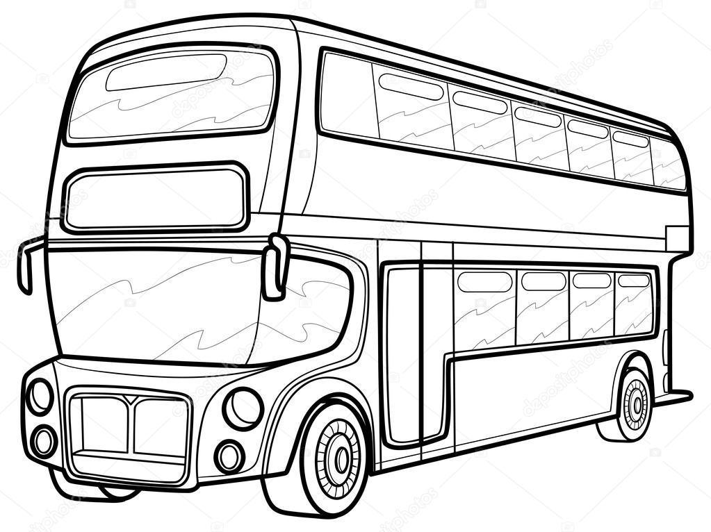 1023x766 London Bus Stock Vector Kopirin