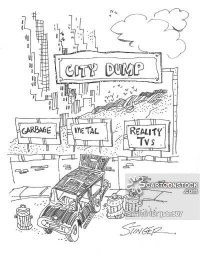 400x510 City Dump Cartoons And Comics