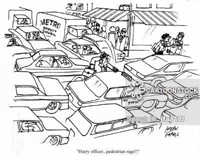 400x321 Angry Pedestrian Cartoons And Comics