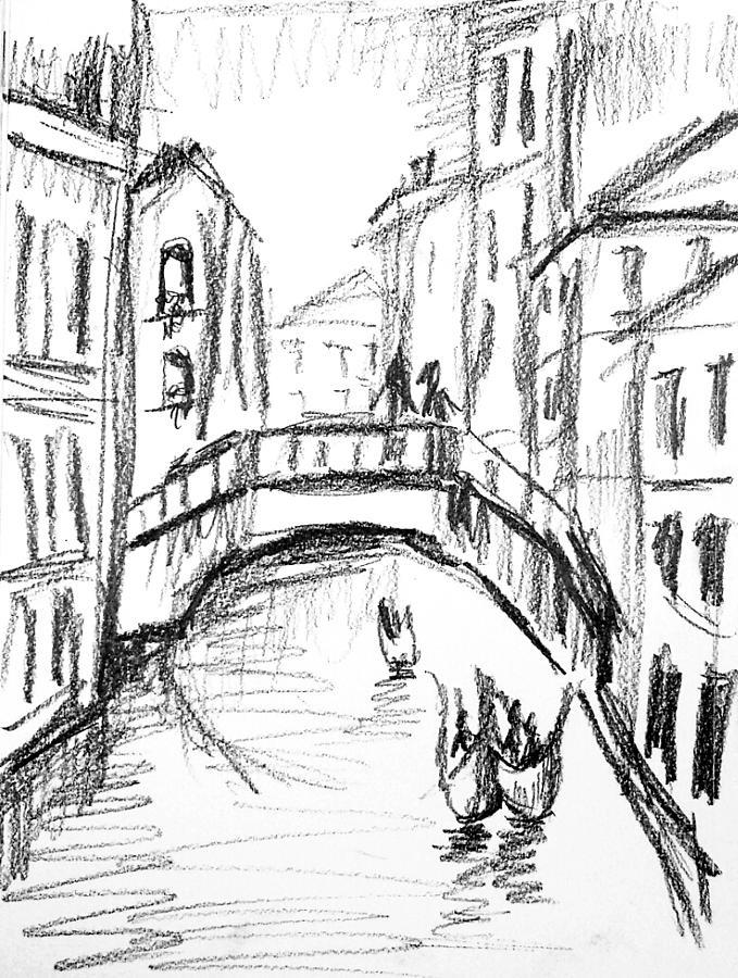 679x900 Dream City Drawing By Hae Kim