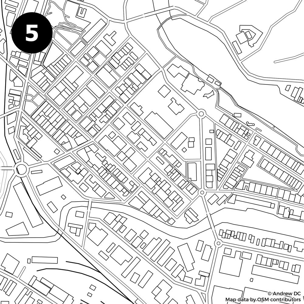 1000x1000 Identify City From Blank Street Map Kiwi Edition!