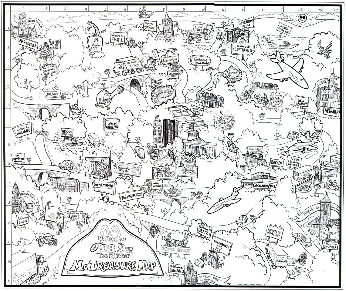 1140x960 Cartoon City Maps