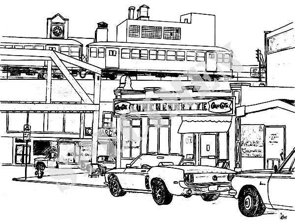 600x453 Craig's Railroad Pages Railroad Art Urban Cityscape