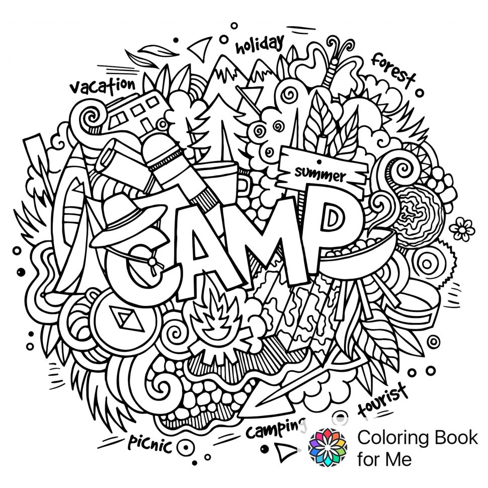 970x970 Coloring Cityscape Coloring Book Colored With For Me Doodle