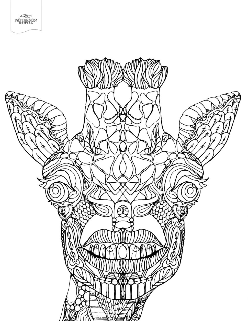 970x1255 Coloring Coloring Toothy Adult Pages Printable Off The Cusp
