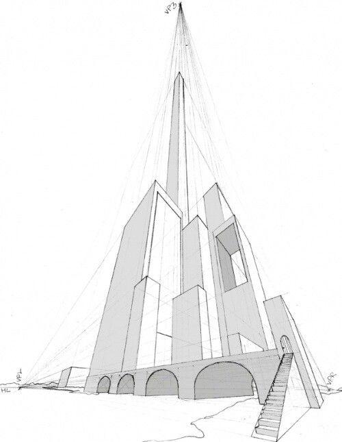 500x645 3 Point Perspective Perspective Perspective