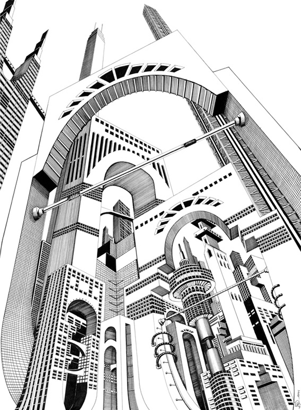 600x817 A Cidade Branca Faithistorment Illustrations By Josh Raymond