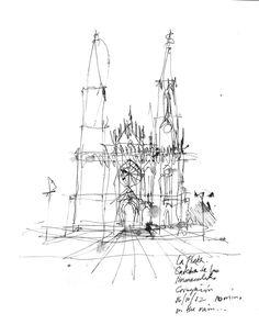 236x296 George Butler's Sketchbook Arhitecture Sketchbooks