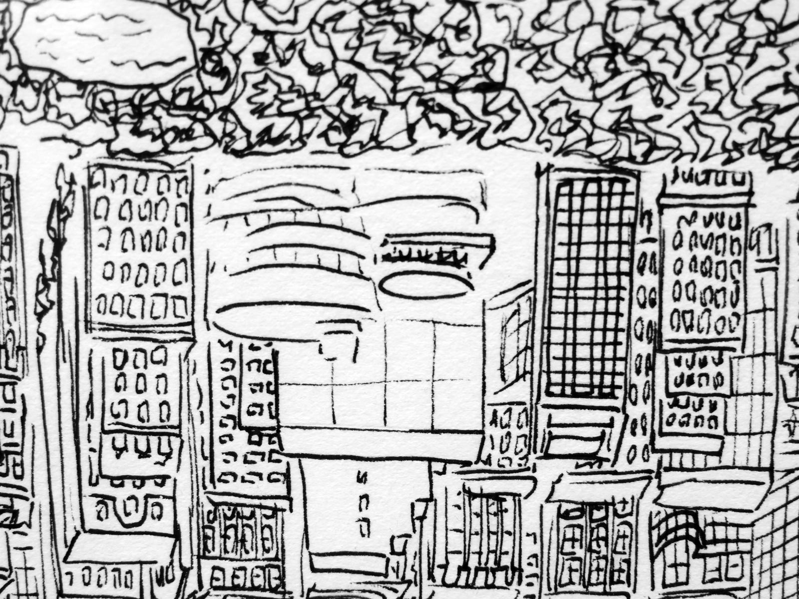 1600x1200 Martin La Roche's Astonishing Cityscapes Talking Beautiful Stuff