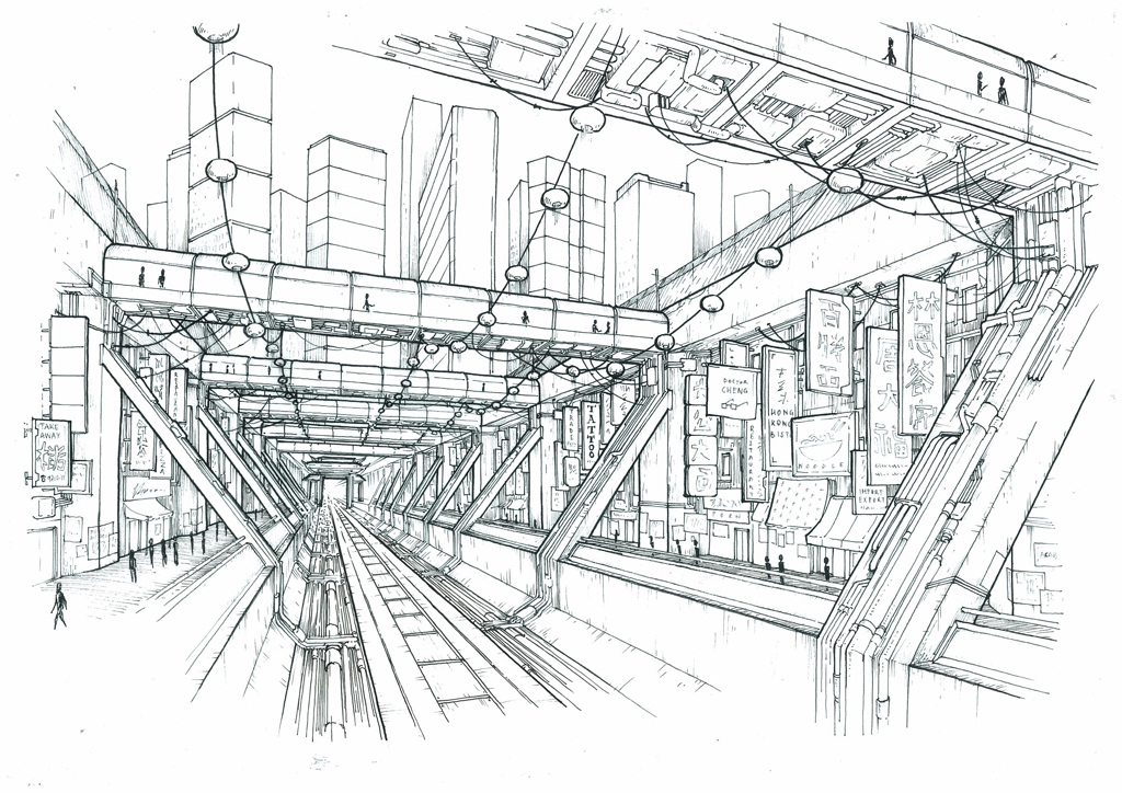 1024x724 Perspective Drawing Sketch Perspective Perspective