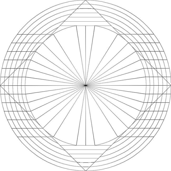 720x720 Geometric Circle
