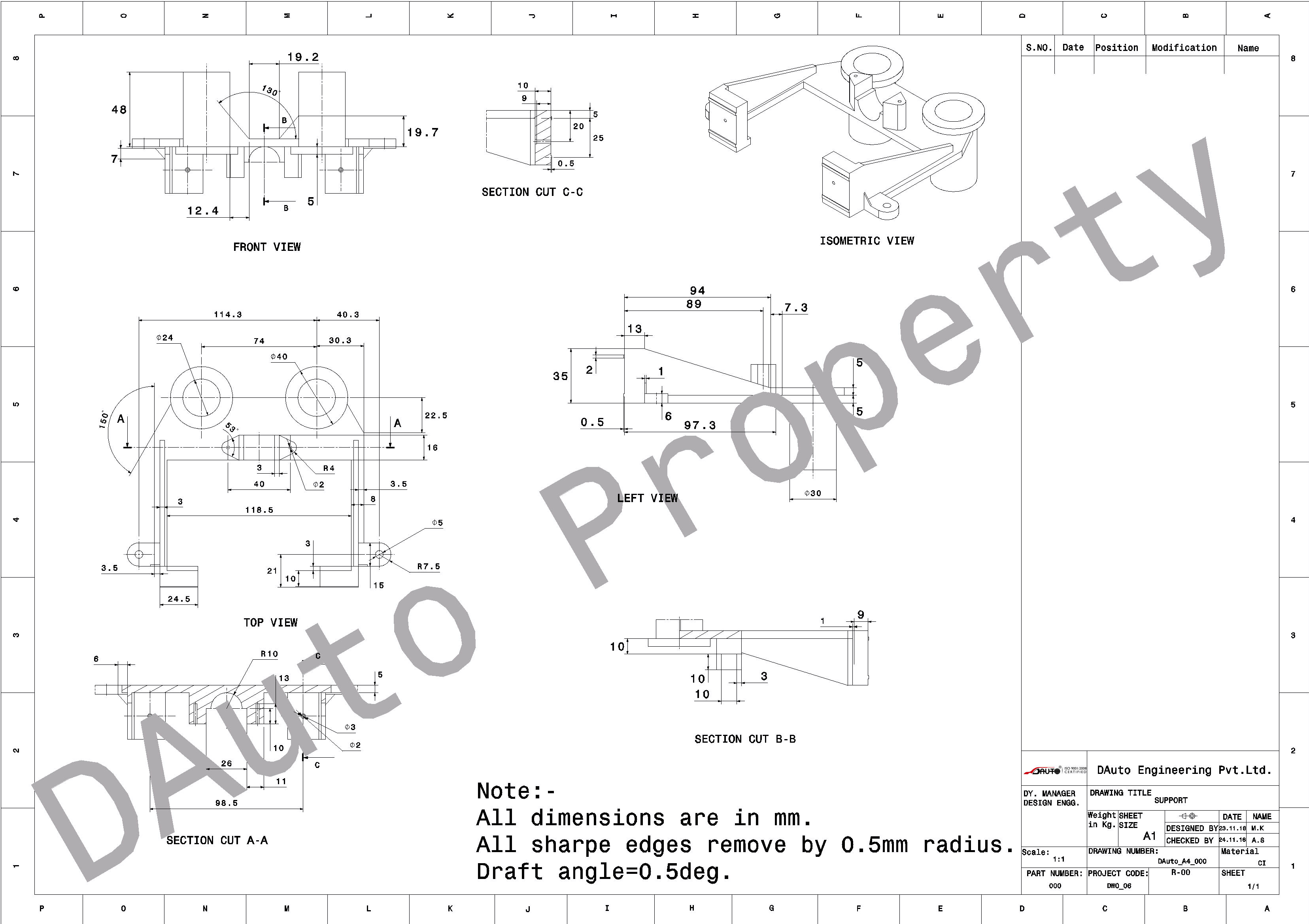 3311x2339 Mechnical Engineering Drawing Civil Engineering Drwaing 2d