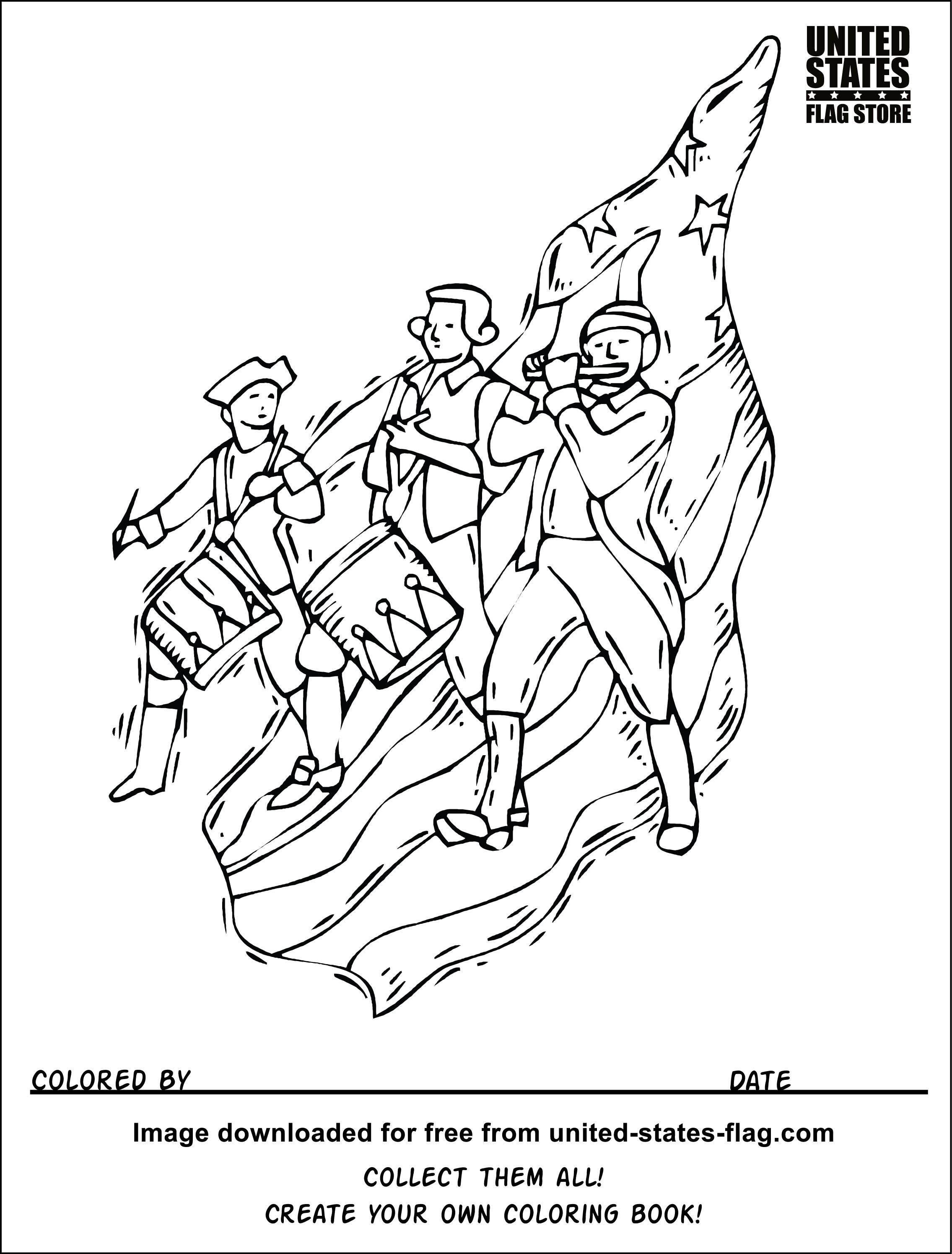 2271x2989 Civil War Coloring Pages