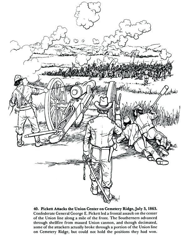 600x750 Civil War Coloring Sheets From To A Civil War Coloring Book Civil