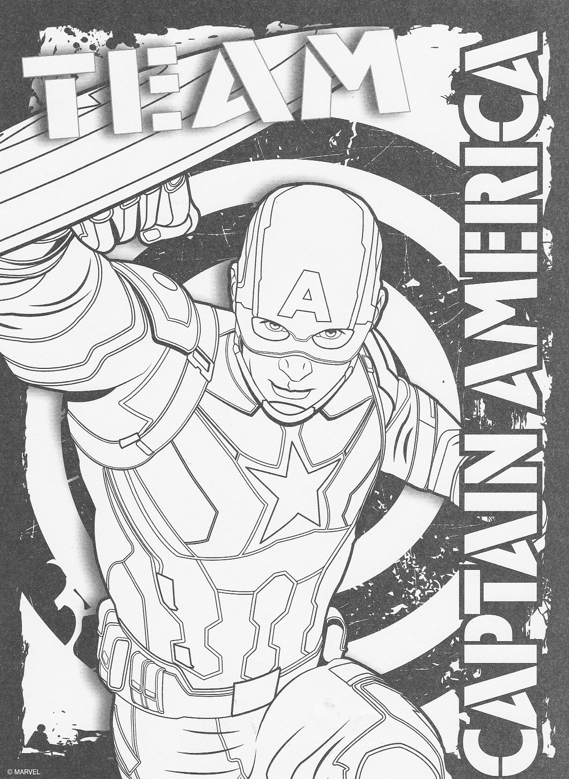 Learn How To Draw Falcon From Captain America Civil War: Civil War Drawing At GetDrawings.com