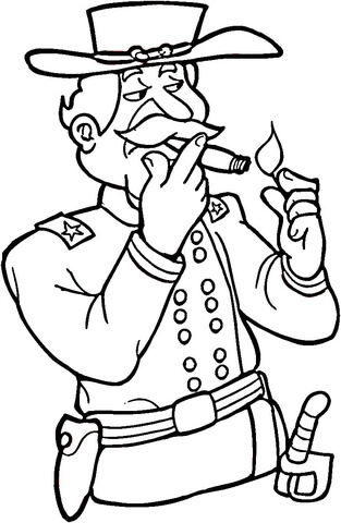 313x480 Civil War Soldier Coloring Page Free Printable Coloring Pages
