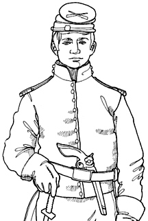 Civil War Soldier Drawing At Getdrawings Com Free For Personal Use