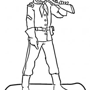308x308 Pictures Of American Civil War Coloring Pages