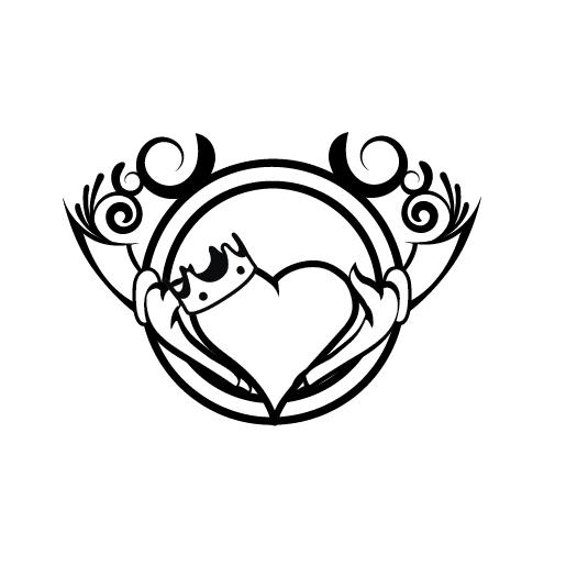 515x515 Claddagh Tattoo By Rayfe