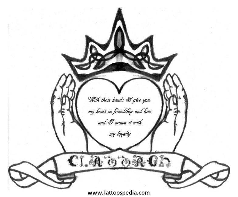 783x650 Claddagh Tattoos