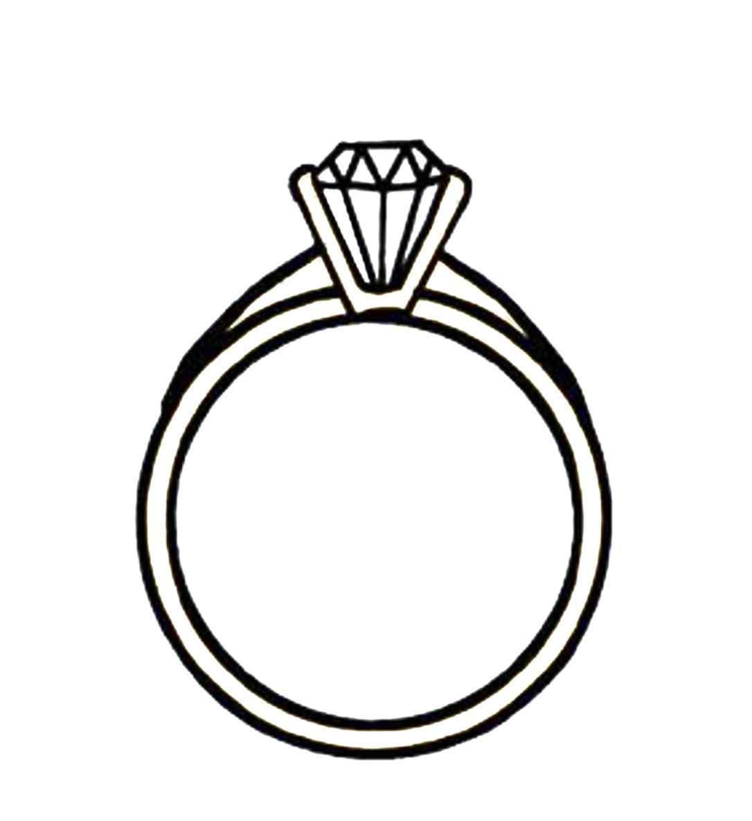 1086x1185 Irish Claddagh Ring Drawing