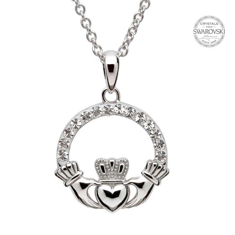 768x768 Necklace Embellished With Swarovski Crystals