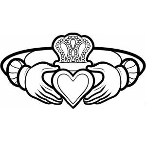 Claddagh Ring Drawing