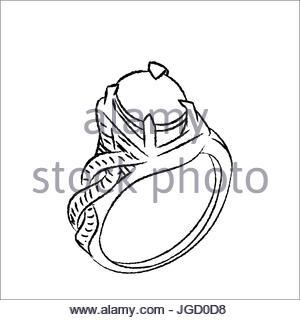 300x320 Drawn Ring Coloring