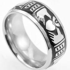 225x225 Men's Claddagh Ring Ebay